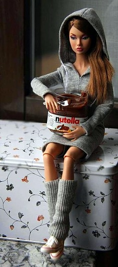 nutella barbie