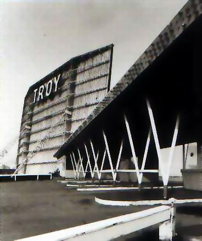 troy drive in movie theater michigan