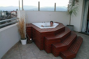 hot tub guy solo