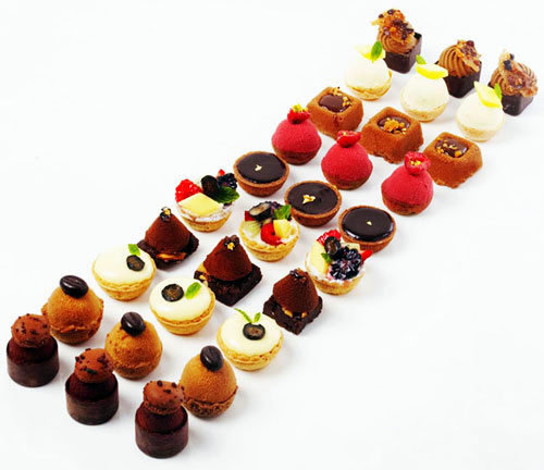 the petit four is usually served at fancy events like weddings or bridal showers you see them a lot on cruise ships or at the buffet in las vegas or