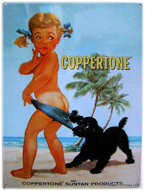 coppertone girl 1