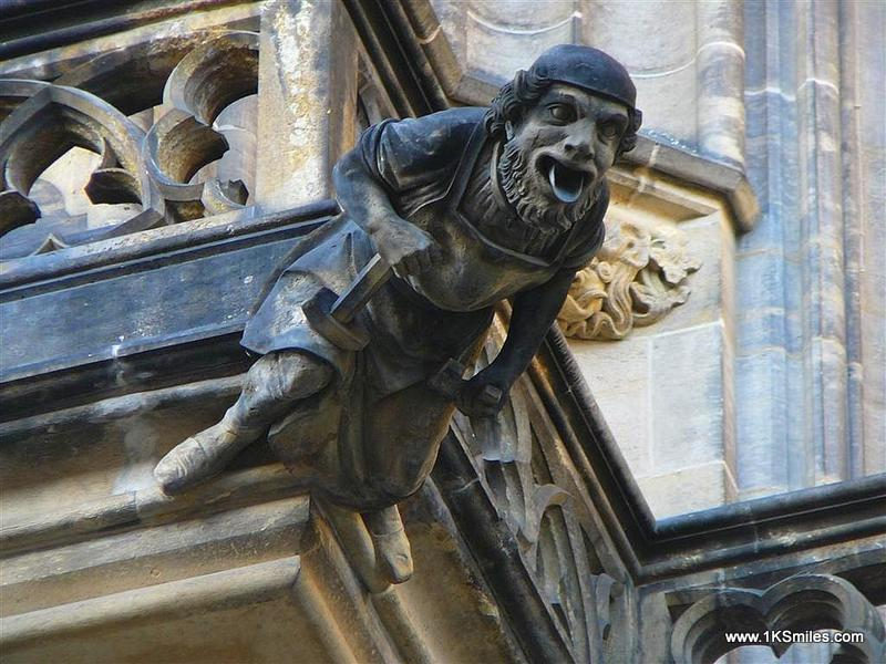 The Term Gargoyle Is Most Often Applied To Medieval Work But In Ancient Egyptian Architecture Gargoyles Showed Little Variation Typically Form Of A
