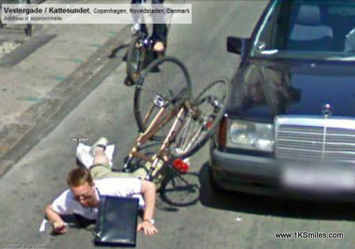 #915 Caught on Google Earth Street View