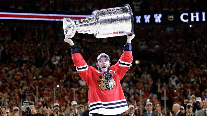 stanley cup chicago blackhawks 2 NHL Troy Swezey