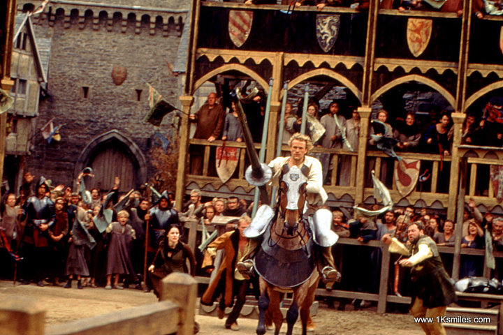 "a knights tale 1 A knights tale [pic] ""a knight's tale"" is a movie that was based in the medieval time the movie focussed on jousting and gives us an outlook on medieval time."