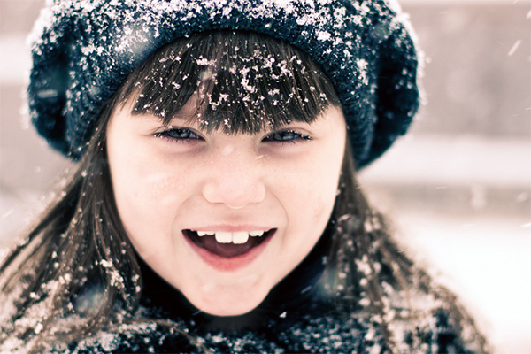 snowflakes that stay on my nose and eyelashes 1