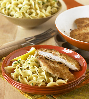 schnitzel with noodles recipe wild side confections