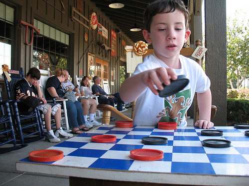 checkers cracker barrel