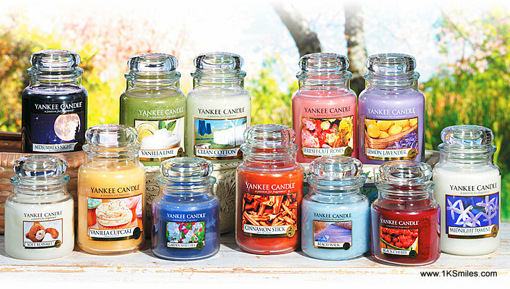 Scented Candle Yankee Group